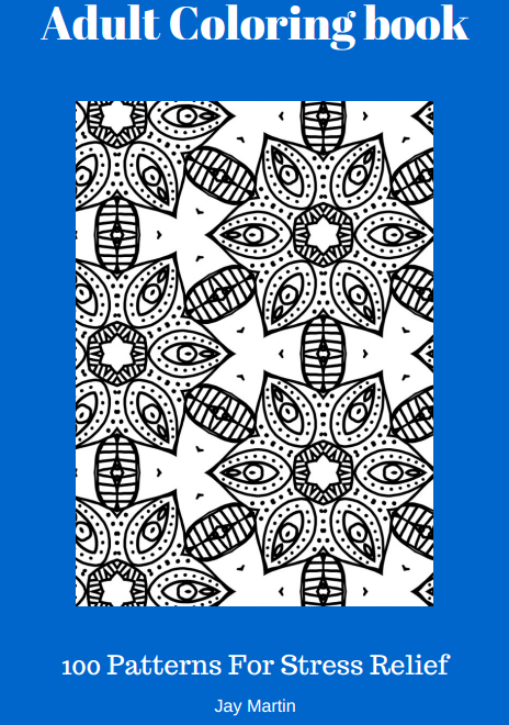 Adult Coloring Book Ebook