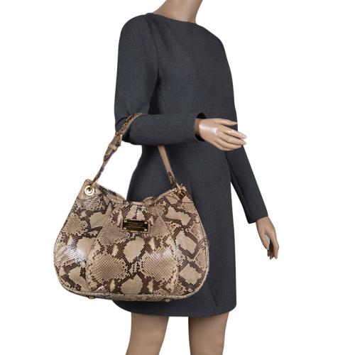 3e84922f4d13 Luxury Handbags   Louis Vuitton Beige Python Limited Edition Galliera  Smeralda Bag  Retail R48 750