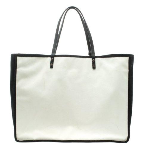 46f0e25d562c30 Luxury Handbags * Chanel White & Black Canvas Ladies First Shopper Tote *  Retail R50 700