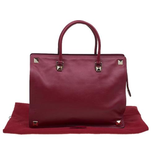 5c7276e2166 Handbags & Bags - * Luxury Handbags * Valentino Burgundy Leather ...