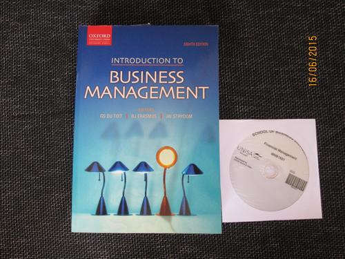 Introduction To Business Management Book
