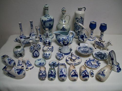Dutch Porcelain Collection Of Delft Some Very Collectable Most Pieces Are Marked See