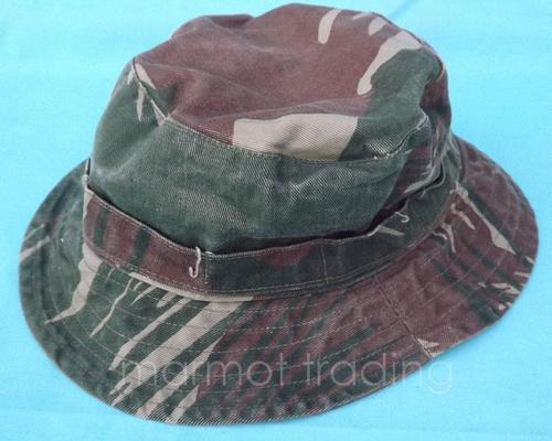 Headgear - RHODESIAN ARMY -- CAMO BUSH HAT BOONIE HAT -- MEASURED ... 19488269858