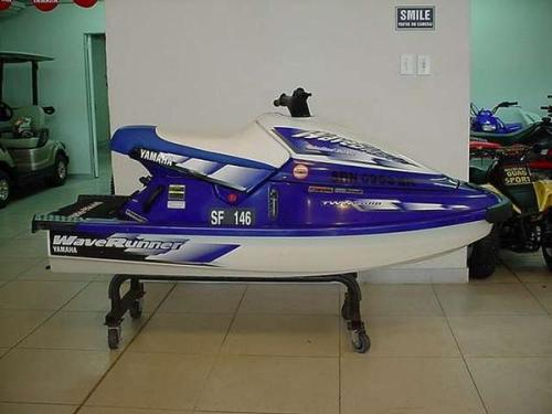 YAMAHA WAVE BLASTER 700CC, 1999, NEW TRAILER, RIVA EXHAUST PIPE, RIVA RIDE  PLATE, AFTER MARKET BARS