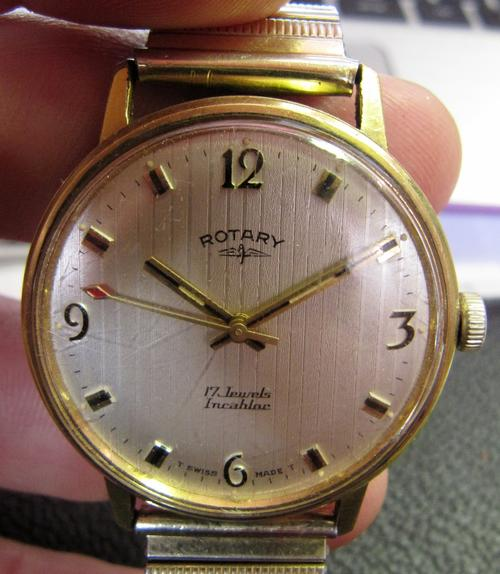 Rare Amp Collectible Watches Rotary 17 Jewels Incabloc