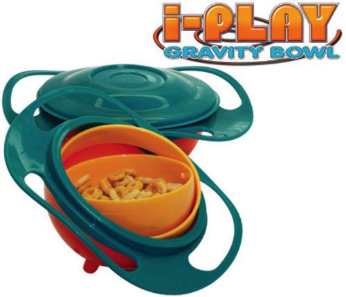 Gravity Bowl plates & bowls - original i-play gravity bowl (set of 2 bowls in 1