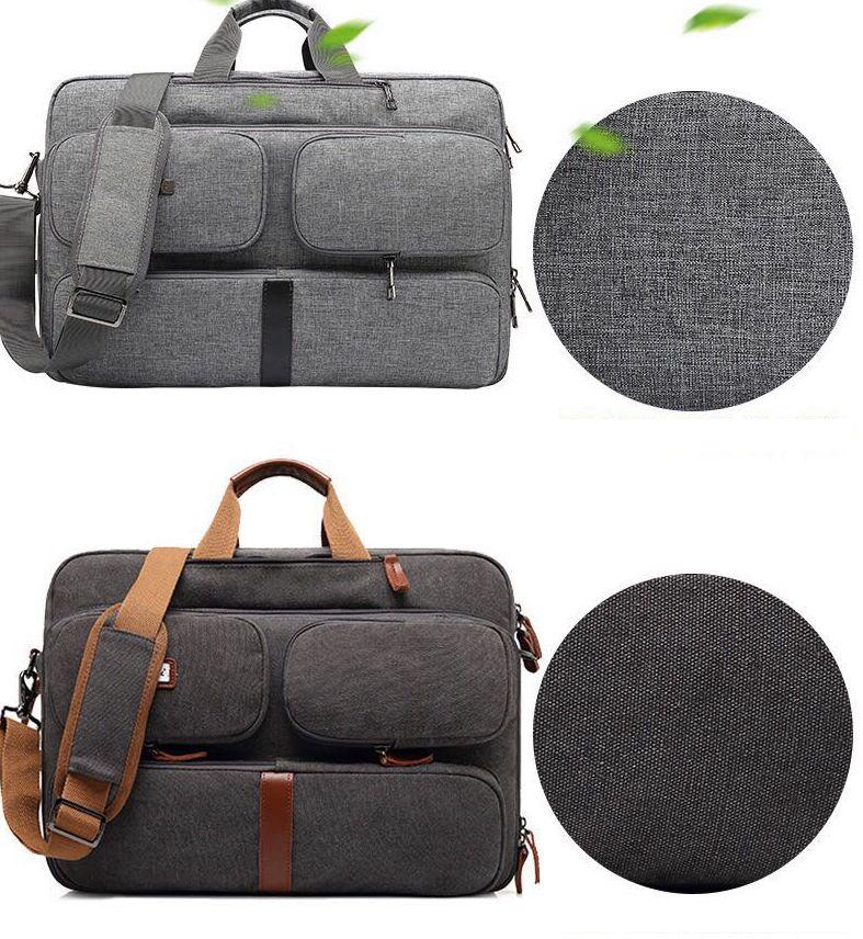13da57e6ef4f Cases   Bags - Laptop Bag CoolBELL Convertible Backpack Messenger ...