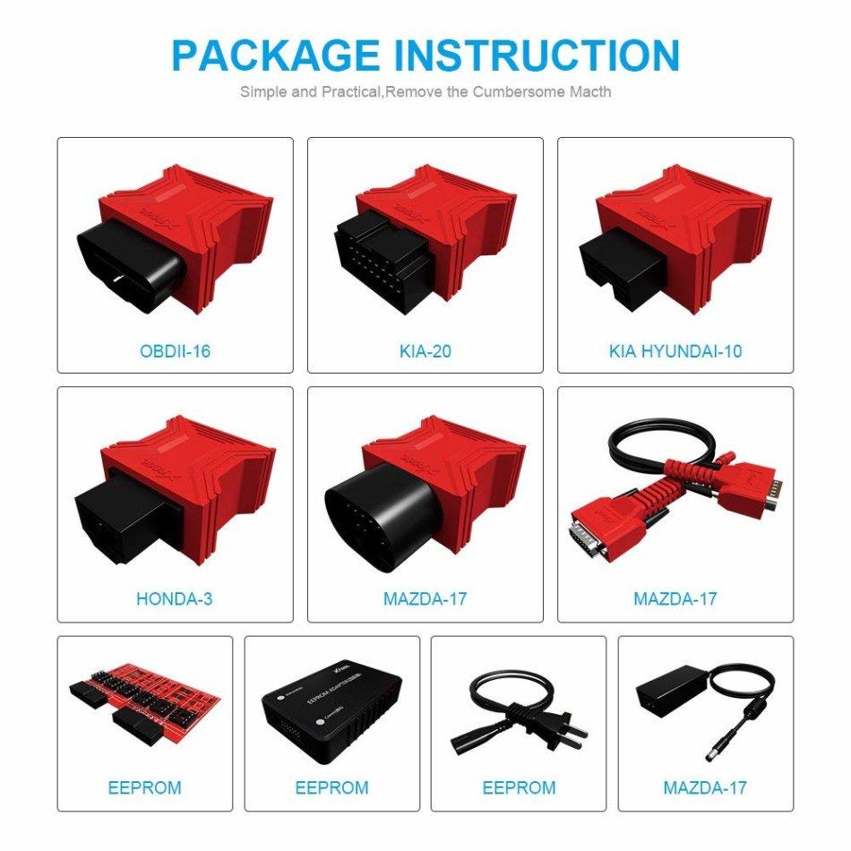 Repair Kits - XTOOL X100 PAD2 OBDII Diagnostic Tool Full System Auto