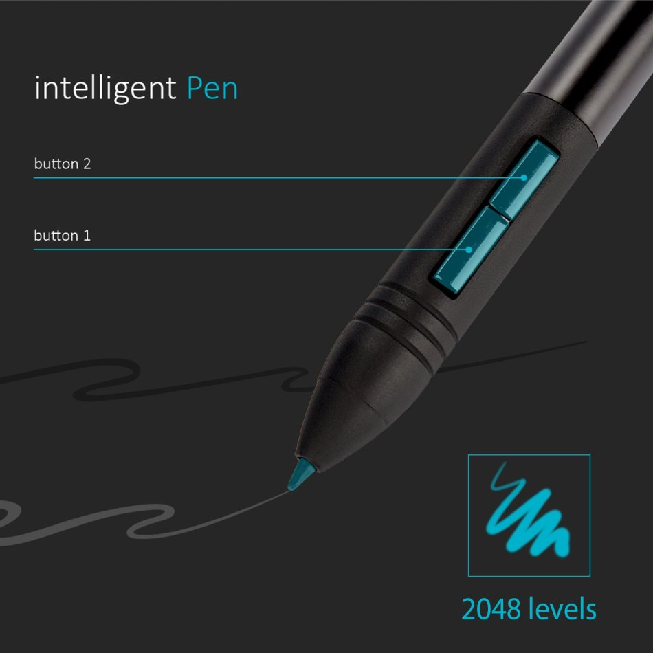 Other Computers & Networking - Huion Giano WH1409 Large Wireless