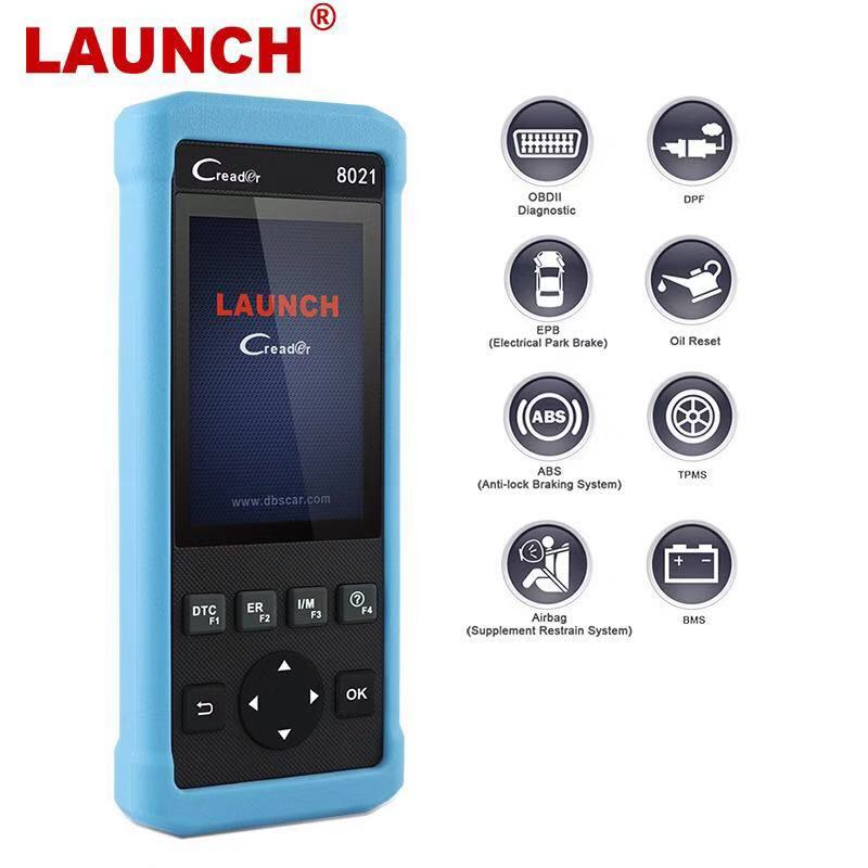 New Launch DIY Scanner CReader 8021 Full OBD2 Scanner/Scan Tool Diagnostic  OBD+ABS+SRS+Oil+EPB+BMS+S