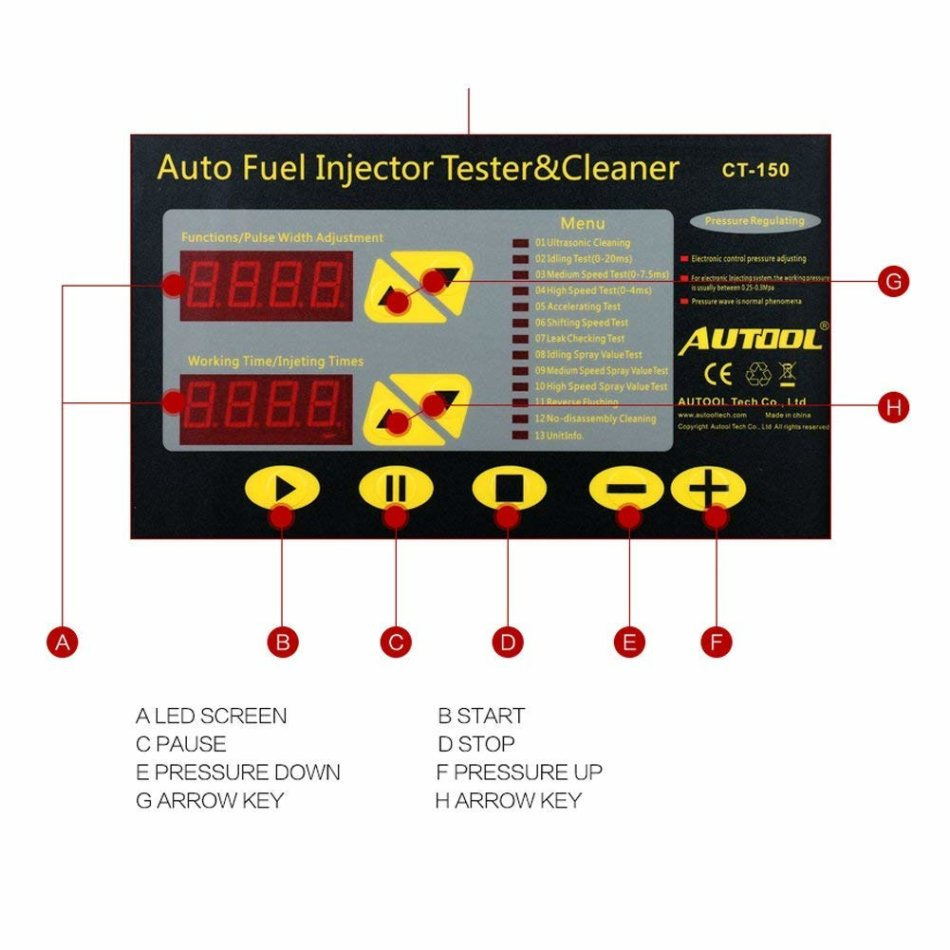 Other Tools & Kits - AUTOOL CT-150 Gasoline Vehicle