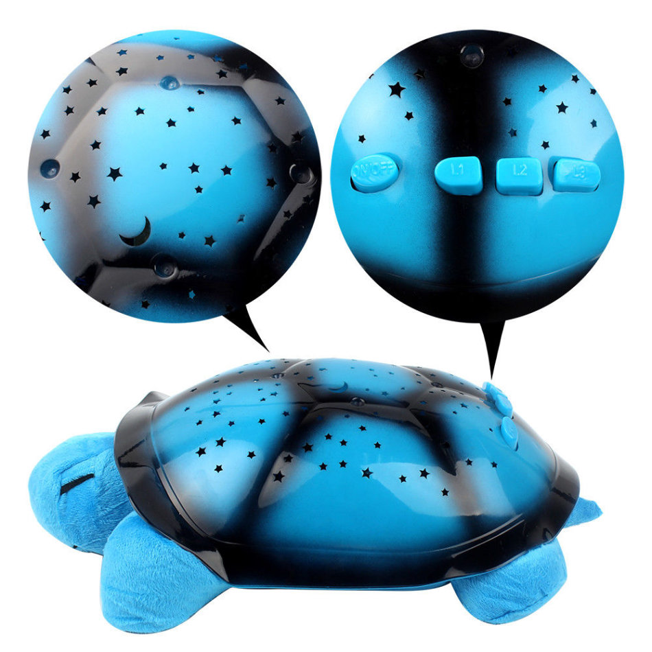 Other toys cute magic turtle night light stars sky constellation lamp was listed for - Turtle nite light ...