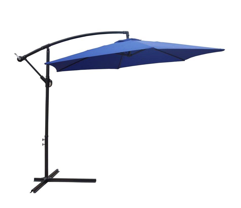 Patio Umbrella Alternative: 3m Outdoor Patio Cantilever Banana