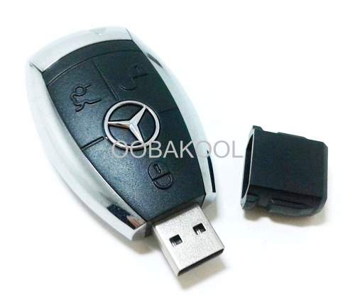 Flash Memory Drives 4gb Usb Mercedes Benz Key Flash Memory Drive