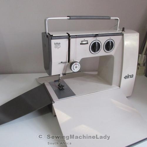 Sewing Machines Overlockers ELNA LOTUS SPECIAL SWISS PORTABLE Custom Elna Lotus Sp Portable Sewing Machine