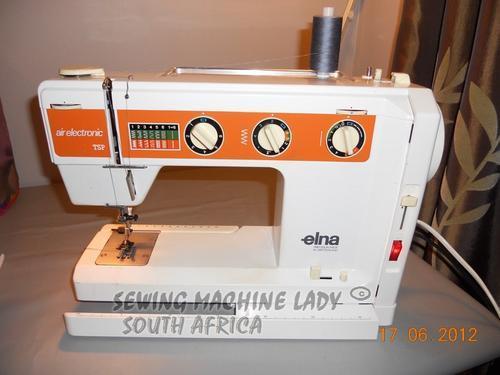 Sewing Machines Overlockers ELNA TSP AIR ELECTRONIC SWISS MADE Amazing Elna Air Electronic Tsp Sewing Machine Manual