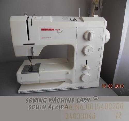 Sewing Machines Overlockers BERNINA 40 SEWING MACHINE SWISS Gorgeous Bernina 1000 Special Sewing Machine
