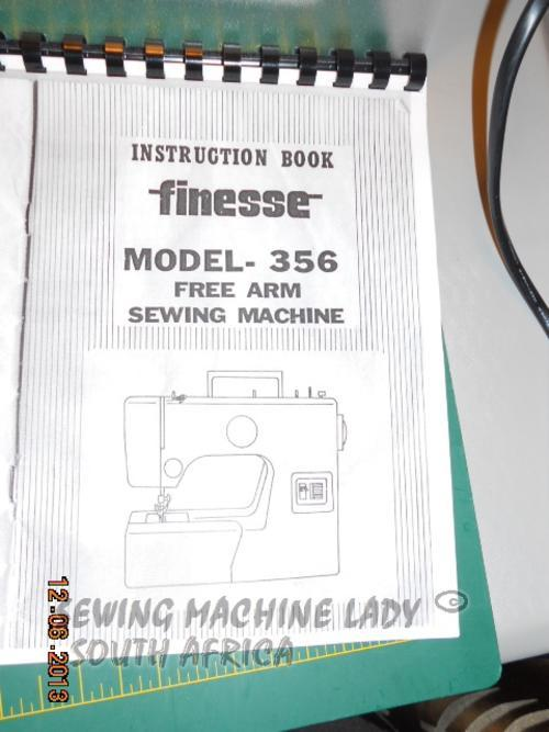 Sewing Machines Amp Overlockers Janome Finesse 356 Sewing