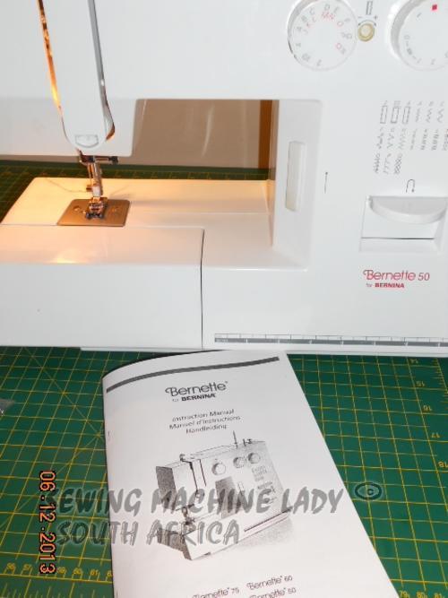 Sewing machines overlockers bernette 50 by bernina sewing user manual included fandeluxe Gallery
