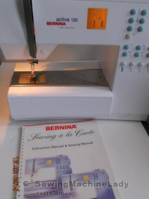 Sewing Machines Overlockers BERNINA ACTIVA 40 SWISS MADE SEWING Best Bernina Activa 130 Sewing Machine