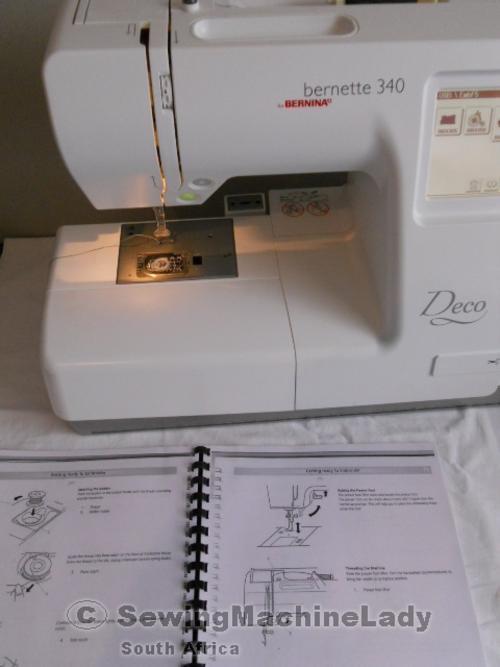 Embroidery Machines - BERNINA DECO 340 (USB) ver1 3 EMBROIDERY