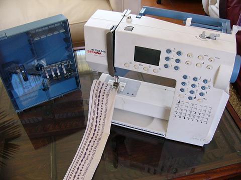 Sewing Machines Overlockers BERNINA ACTIVA 40 SWISS SEWING Extraordinary Bernina Activa 145 Sewing Machine