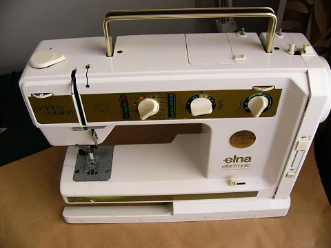 Sewing Machines Overlockers ELNA AIR ELECTRONIC GOLDEN JUBILEE Beauteous Elna Carina Sewing Machine