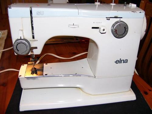 Sewing Machines Overlockers ELNA SU BLUETOP SWISS MADE SEWING Unique Elna Su Sewing Machine