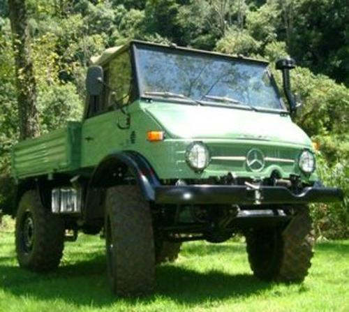 Mercedes-Benz - Mercedes-Benz Unimog 1982 -=- The Ultimate Tractor was listed for R450,000.00 on ...