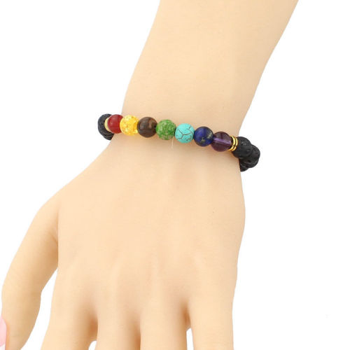 c6843fb38d9495 Feeling like your chakras are out of balance? Our 7 Chakra Reiki Healing  Bracelet restores and balances your 7 chakras getting you back to your  spiritually, ...