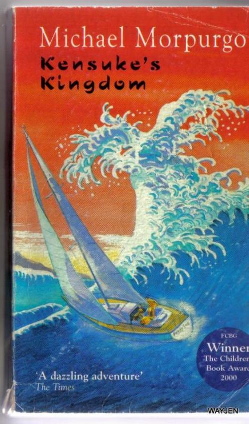 Children S Book Cover Awards : Thriller adventure michael morpurgo kensuke s kingdom