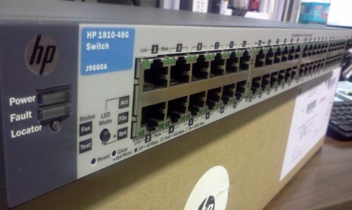 HP 1810-48G Switch - 48 ports - Managed
