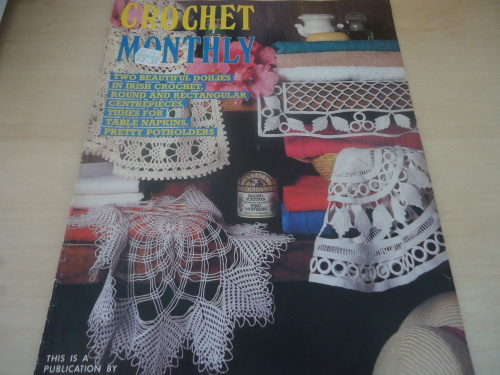 Patterns Crochet Monthly Volume 56 Full Of Patterns 32 A4 Pages