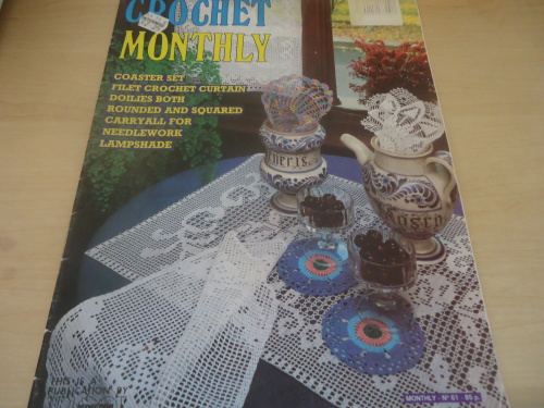 Patterns Crochet Monthly Volume 61 Full Of Patterns 32 A4 Pages