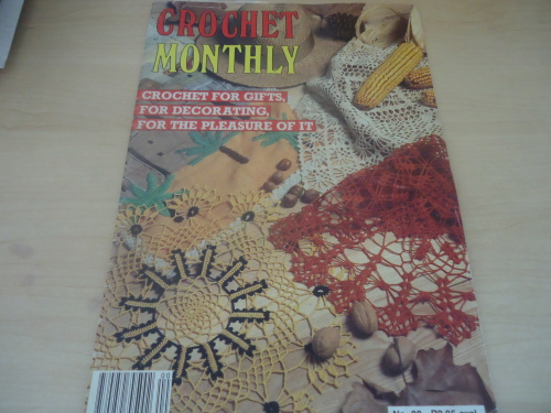 Patterns Crochet Monthly Volume 88 Full Of Patterns 32 A4 Pages