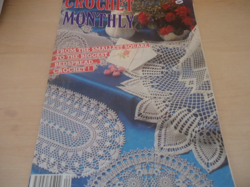 Enchanting Crochet Monthly Patterns Frieze Easy Scarf Knitting