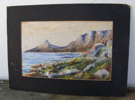 Paintings - UNFRAMED WATERCOLOR BY WELL KNOWN COLLECTABLE ...