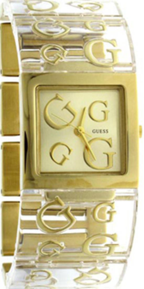 a9c6dcd0674d Women s Watches - 100% Authentic Gold and Clear Guess Watch was sold ...