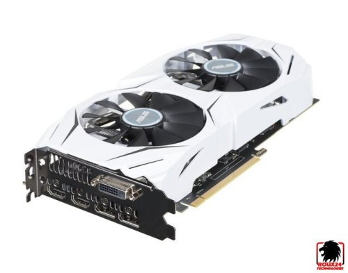 ASUS Dual series GeForce® GTX 1060 OC edition - 6GB GDDR5