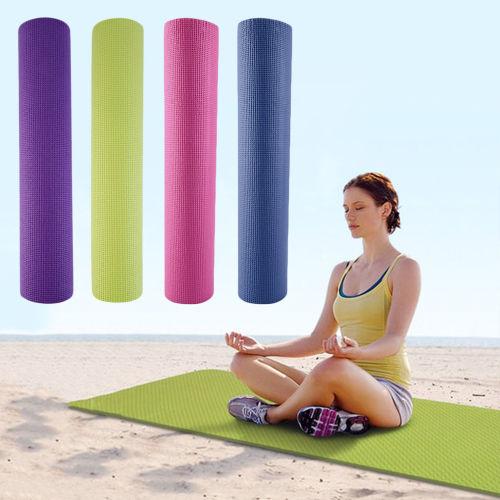Fitness PVC Non-slip 4mm Yoga