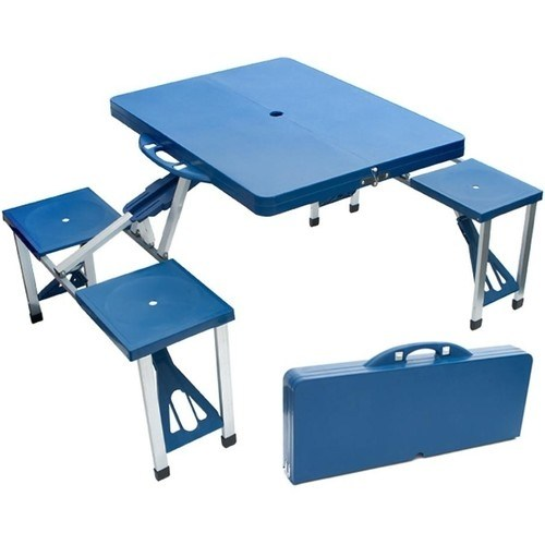 Chairs Outdoor Picnic Folding Tables With 4 Seat Was