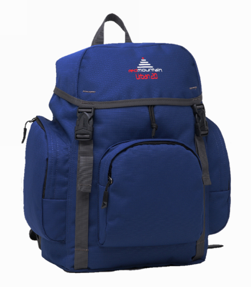 cac477ff66 ... brand new 33570 cc993 Red Mountain School Bag Back Pack Urban 20 Navy  Blue ...
