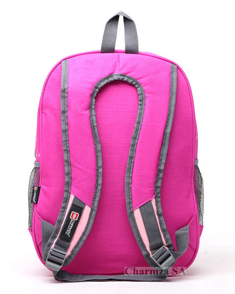 Charmza School Bag Backpack. Colour  Pink. If you are interested in buying  bulk 541bc893253cd