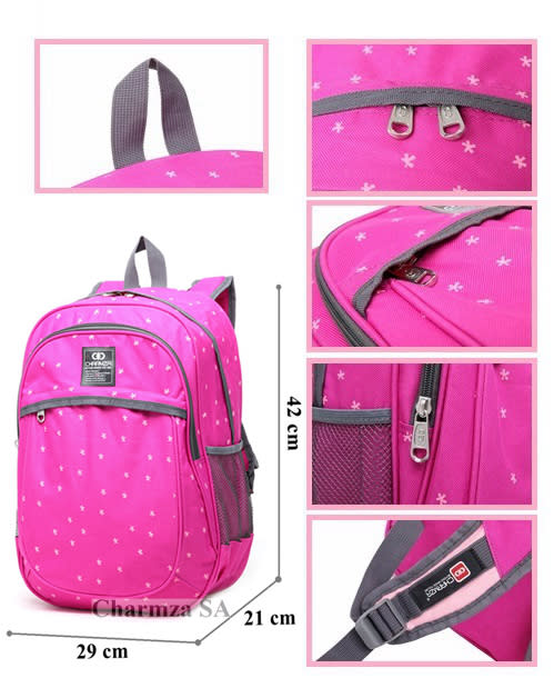 Backpacks - Charmza School Bag Back Pack Pink was listed for R149.00 ... 2b274112e3670