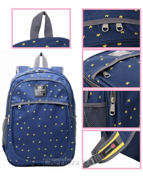 Backpacks - Charmza School Bag Backpack Navy was listed for R149.00 ... 92e30f9dd8ef2