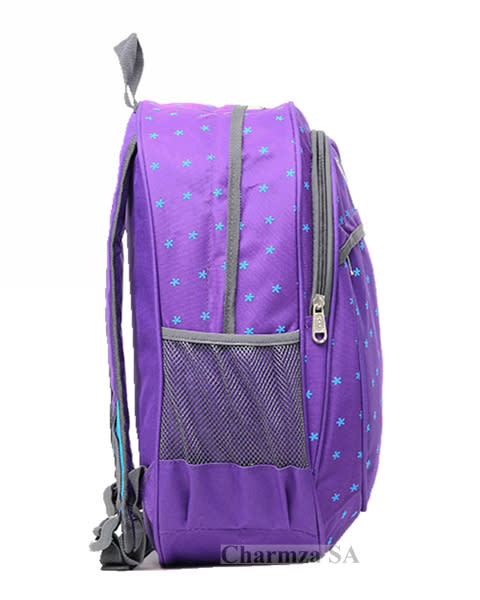dfa8413ca7 ... online store 5a3de da80b Backpacks - Charmza School Bag Backpack Purple  was sold for ...