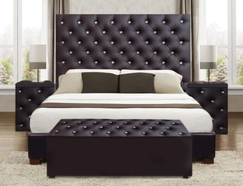 Headboards 4 Pce Upholstered Dina Bedroom Suite Comp