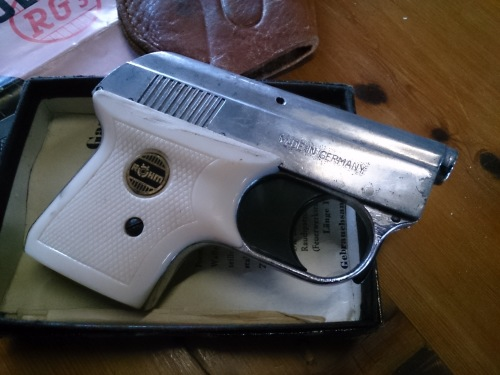 Other Antiques & Collectables - German made Rohm RG3 starting pistol