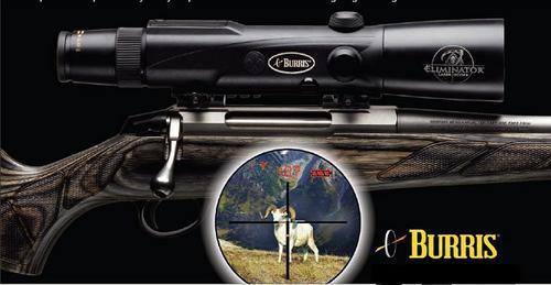 Scopes Burris Eliminator Laserscope 4 12x42