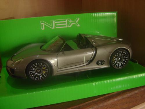 Blechspielzeug Offen Welly Nex~porsche 918 Spyder Concept~scale Model~1:34~neu Autos & Lkw